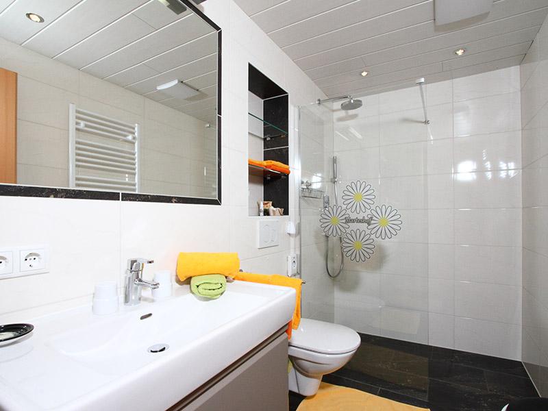 Dorfblick Badezimmer