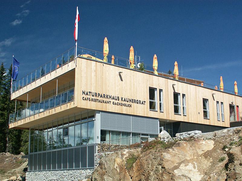 [Translate to en:] Naturparkhaus Kaunergrat